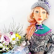 Куклы и игрушки handmade. Livemaster - original item bake the doll in plastic. Amelia. Handmade.