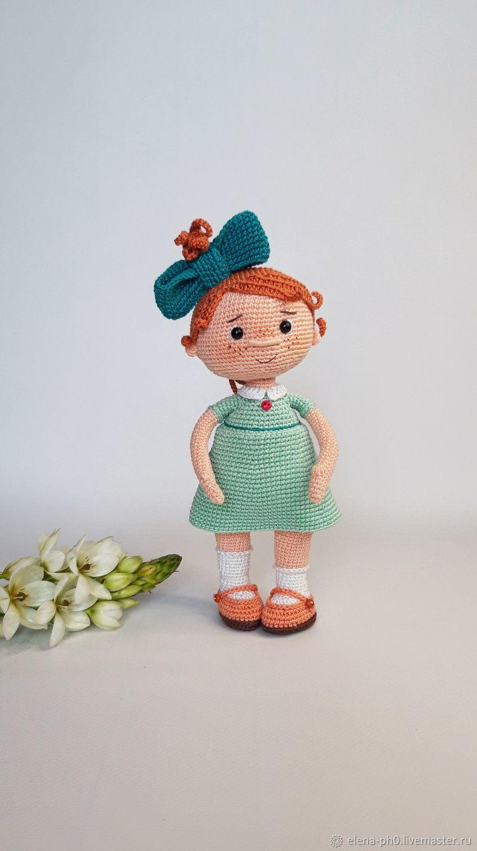Кукла вязаная. Кукла ручной работы крючком, Амигуруми куклы и игрушки, Санкт-Петербург,  Фото №1