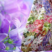 """Одежда ручной работы. Ярмарка Мастеров - ручная работа Юбка с цветами в пол """"Утро в лесу"""". Handmade."""