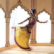 Куклы и игрушки ручной работы. Ярмарка Мастеров - ручная работа Кукла Индианка, танец Бхаратанатьям. Handmade.