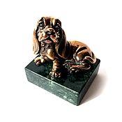 Для дома и интерьера handmade. Livemaster - original item Dog English Cocker Spaniel, figurine, gift dog, souvenir. Handmade.