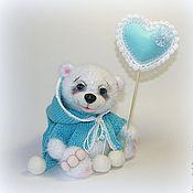 Куклы и игрушки ручной работы. Ярмарка Мастеров - ручная работа Мишка для будущей мамочки :). Handmade.