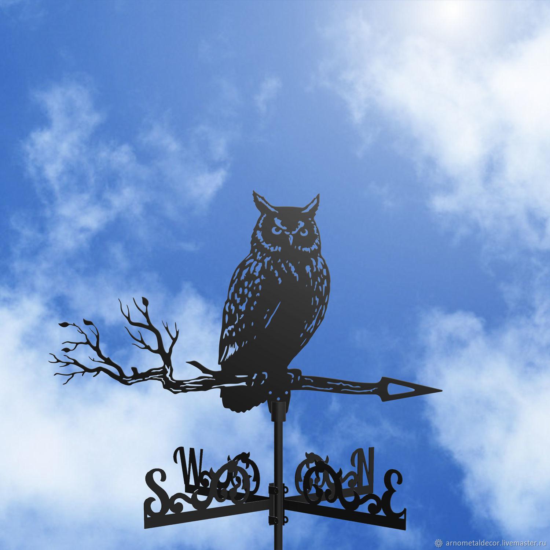 A weathervane on the roof, 'Owl', Vane, Ivanovo,  Фото №1