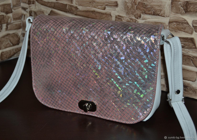 b7c0cbe3e347 Женские сумки ручной работы. Ярмарка Мастеров - ручная работа. Купить  Небольшая сумочка из натуральной ...