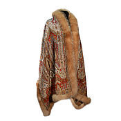Аксессуары handmade. Livemaster - original item Stole with fur Royal. Handmade.