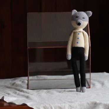 Куклы и игрушки ручной работы. Ярмарка Мастеров - ручная работа Волк. Handmade.