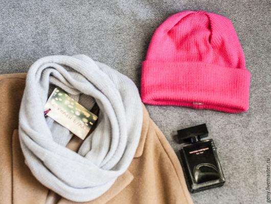 Шапки ручной работы. Ярмарка Мастеров - ручная работа. Купить Шапка-чулок ярко-розовая. Handmade. Фуксия, шапка-носок