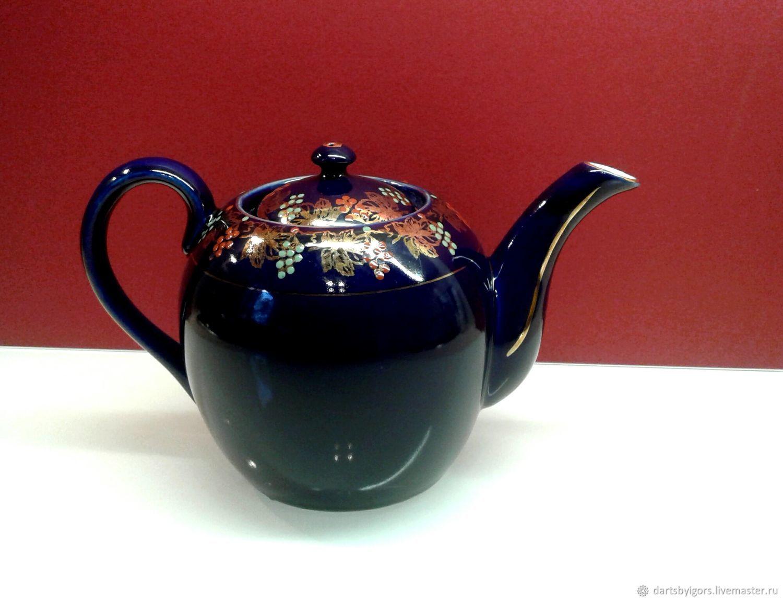 Винтаж: Фарфоровый Чайник , Винтажные чайники, Рига,  Фото №1
