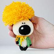 Куклы и игрушки ручной работы. Ярмарка Мастеров - ручная работа Мистер Одуван - миниатюрный мишка - подарок!. Handmade.