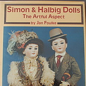 Материалы для творчества ручной работы. Ярмарка Мастеров - ручная работа Книга Simon & Halbig Dolls автор. Handmade.