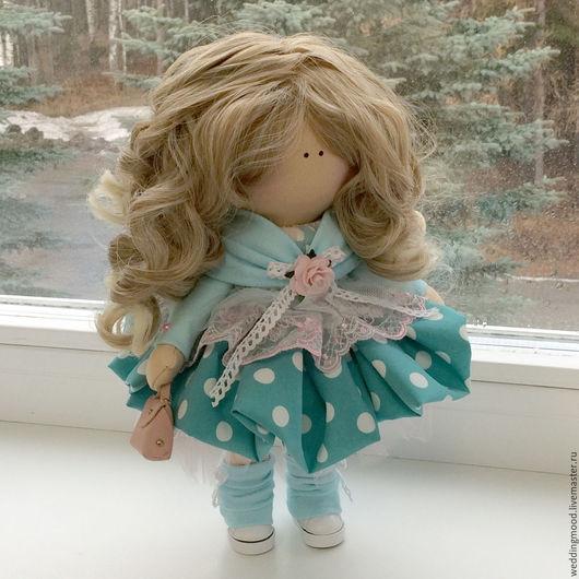 Персональные подарки ручной работы. Ярмарка Мастеров - ручная работа. Купить Куколка В НАЛИЧИИ. Handmade. Комбинированный, текстильная, подарок