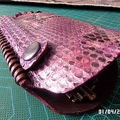 """Ключницы ручной работы. Ярмарка Мастеров - ручная работа Ключница """"Колокольчик"""". Питон фиолетовый. Handmade."""