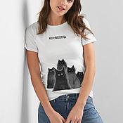 Одежда handmade. Livemaster - original item CotoNOSTRA T-shirt. Handmade.