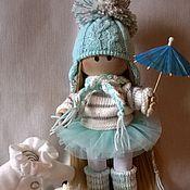 Куклы и игрушки ручной работы. Ярмарка Мастеров - ручная работа куколка игровая и интерьерная. вся одежда съемная.. Handmade.