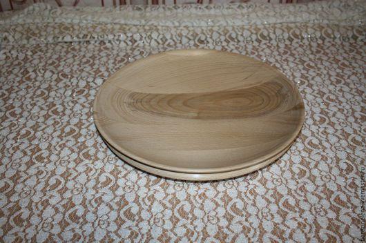 Тарелки ручной работы. Ярмарка Мастеров - ручная работа. Купить Деревянное блюдо из бука. Handmade. Кремовый, посуда, блюдо