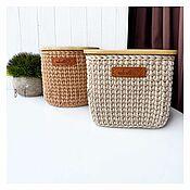 handmade. Livemaster - original item A set of baskets made of cord. Handmade.