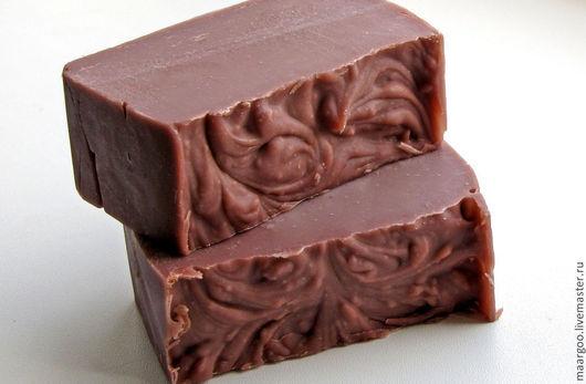 """Мыло ручной работы. Ярмарка Мастеров - ручная работа. Купить Натуральное мыло """"Шоколадный Крем"""". Handmade. Коричневый, туалетное мыло"""