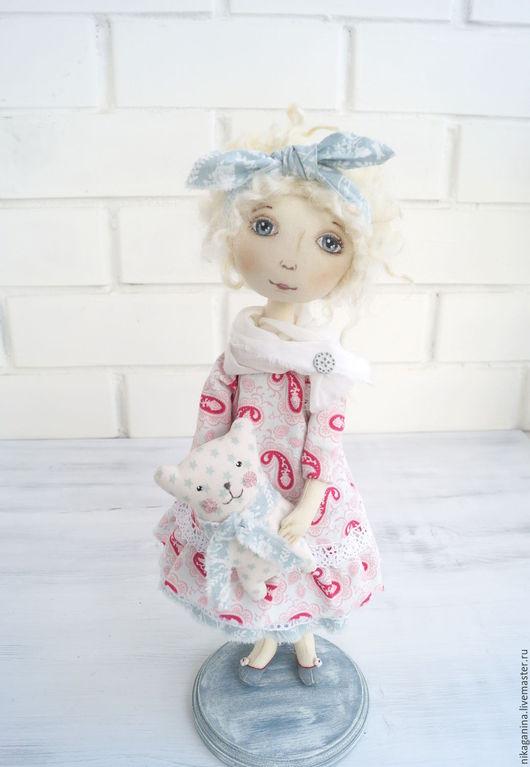 Кукла текстильная `Мечтательница`