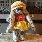 Куклы и игрушки ручной работы. Ярмарка Мастеров - ручная работа Тедди Зайка. Handmade.