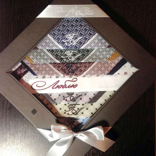 платок носовой набор люблю подарок