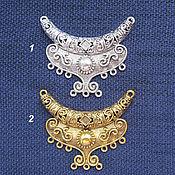 Материалы для творчества ручной работы. Ярмарка Мастеров - ручная работа Подвеска  на 9 нитей, под серебро, золото. Handmade.