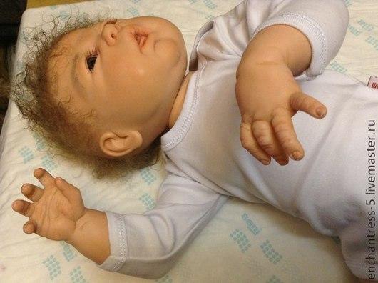 Куклы-младенцы и reborn ручной работы. Ярмарка Мастеров - ручная работа. Купить кукла реборн Дакота. Handmade. Бежевый