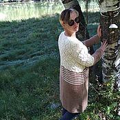 Одежда handmade. Livemaster - original item Cardigan knitted Autumn. Handmade.