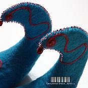 """Обувь ручной работы. Ярмарка Мастеров - ручная работа Тапки """"Принцесса Жасмин"""". Handmade."""