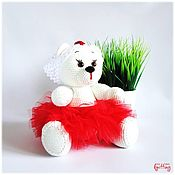 Куклы и игрушки handmade. Livemaster - original item Knitted toys: Nurse - a soft toy. Handmade.