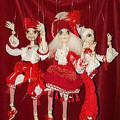 Куклы и игрушки ручной работы. Ярмарка Мастеров - ручная работа Театр текстильных кукол-марионеток. Handmade.