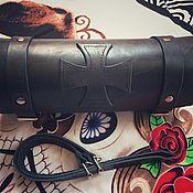Классическая сумка ручной работы. Ярмарка Мастеров - ручная работа Кофр батон. Handmade.