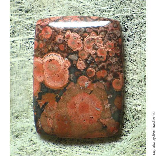 Для украшений ручной работы. Ярмарка Мастеров - ручная работа. Купить Яшма(риолит),кабошон (8203). Handmade. Комбинированный, яшма, риолит