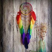 """Фен-шуй и эзотерика ручной работы. Ярмарка Мастеров - ручная работа Ловец Снов """" Rainbow dreams"""". Handmade."""