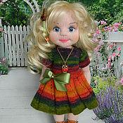 Куклы и игрушки ручной работы. Ярмарка Мастеров - ручная работа Платье для куклы 35-40 см. Handmade.