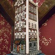 "Для дома и интерьера handmade. Livemaster - original item Lamp night light ""Dutch house"". Handmade."