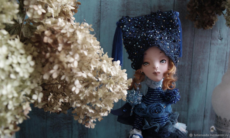 Ангел-Пташка Аграфена, Портретная кукла, Камышин,  Фото №1