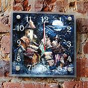 Для дома и интерьера handmade. Livemaster - original item Copy of Clock handmade Moon night. Handmade.