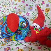 Куклы и игрушки ручной работы. Ярмарка Мастеров - ручная работа Слоники и гномики. Handmade.
