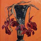 Картины и панно ручной работы. Ярмарка Мастеров - ручная работа Забытые тюльпаны. Handmade.