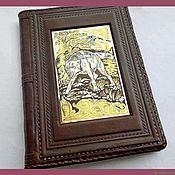 Канцелярские товары handmade. Livemaster - original item The diary is bound in leather