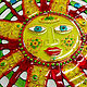 Panels of stained glass, fusing 'a Star named the Sun'. Stained glass. Kalashlinsky. My Livemaster. Фото №4