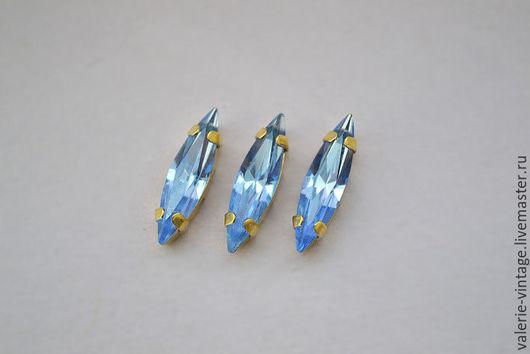 Для украшений ручной работы. Ярмарка Мастеров - ручная работа. Купить Винтажные кристаллы Swarovski 15х4мм. цвет Lavender. Handmade.