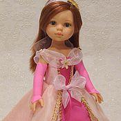 Куклы и игрушки ручной работы. Ярмарка Мастеров - ручная работа платье принцессы  на Паола рейна. Handmade.