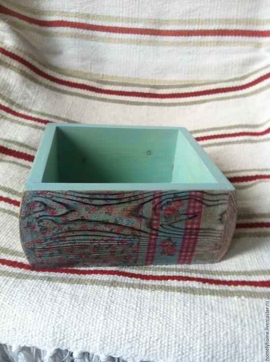 Кухня ручной работы. Ярмарка Мастеров - ручная работа. Купить Короб для хранения. Handmade. Декупаж, для интерьера, уют, конфеты, корзина