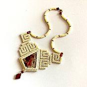 Украшения handmade. Livemaster - original item Decoration of beads and stones. Necklace