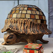 Для дома и интерьера ручной работы. Ярмарка Мастеров - ручная работа черепаха. Handmade.