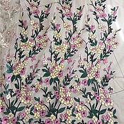 Материалы для творчества handmade. Livemaster - original item Embroidery on mesh, Asel. Handmade.
