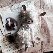 Куклы и игрушки ручной работы. Ярмарка Мастеров - ручная работа Ванильный зайка. Handmade.
