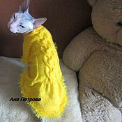 Для домашних животных, ручной работы. Ярмарка Мастеров - ручная работа Платье для кошки. Handmade.
