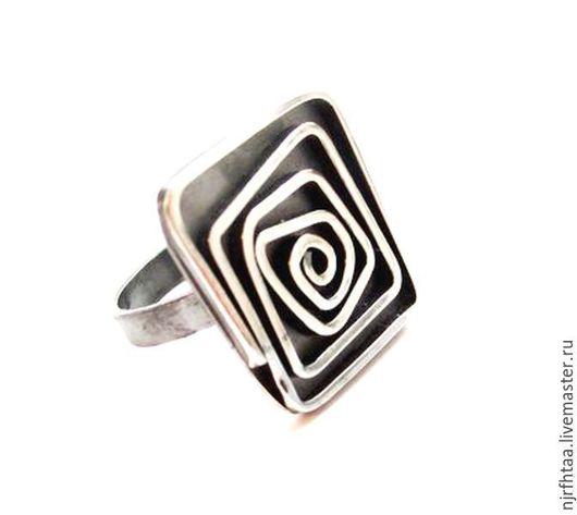 Кольца ручной работы. Ярмарка Мастеров - ручная работа. Купить ЛАБИРИНТЫ кольцо. Handmade. Кольцо ручной работы, серебро